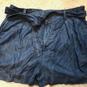 High Waisted Denim Shorts NEW!